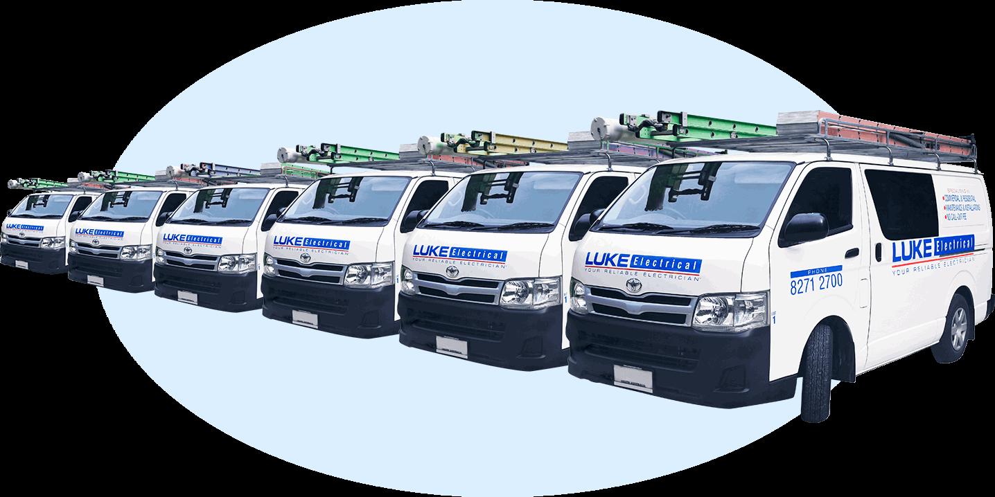 Luke Electrical Adelaide Vans